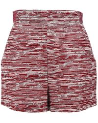 Proenza Schouler - Pre-owned Red Viscose Shorts - Lyst