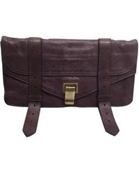 Proenza Schouler - Ps1 Leather Clutch Bag - Lyst