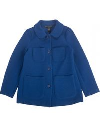 Marc By Marc Jacobs - Blue Polyester Jacket - Lyst