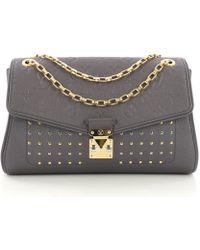 Louis Vuitton - Saint-germain Purple Leather Handbag - Lyst