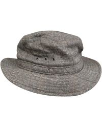 A.P.C. - Pre-owned Wool Hat - Lyst