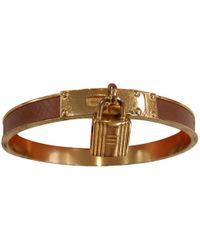Hermès - Pre-owned Kelly Camel Metal Bracelets - Lyst