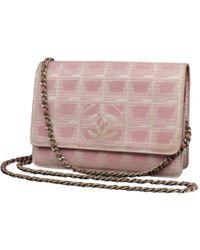 424c1f2b81c7 Chanel Pre-owned Boy Velvet Crossbody Bag in Blue - Lyst