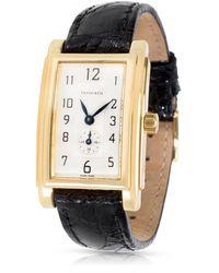 Tiffany & Co. - Yellow Gold Watch - Lyst