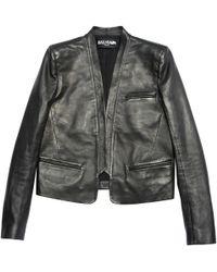 Balmain - Leather Jacket - Lyst