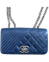 Chanel - Boy Leather Crossbody Bag - Lyst