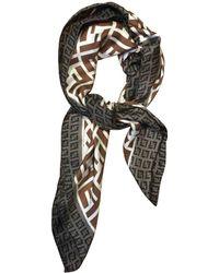 Fendi - Multicolour Silk Silk Handkerchief - Lyst