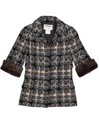 Chanel - Wool Jacket - Lyst