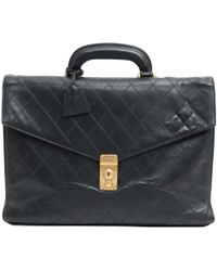 Chanel - Leather Satchel - Lyst