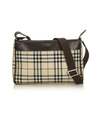 05f0aeaf5c25 Burberry - Cloth Handbag - Lyst