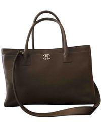 Chanel - Sac bandoulière Grand shopping en cuir - Lyst