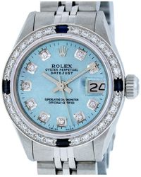 Rolex - Pre-owned Datejust Watch - Lyst