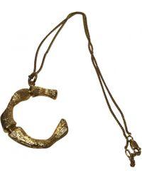 Céline - Alphabet Necklace - Lyst