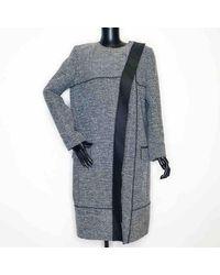Proenza Schouler Grey Polyester Coat - Gray