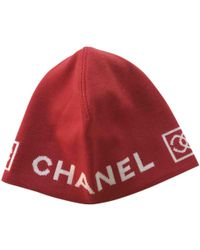 Chanel - Pre-owned Wool Hat - Lyst