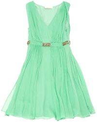 Matthew Williamson - Green Polyester Dress - Lyst