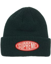Supreme Hat in Green for Men - Lyst 3f6a7684a7e