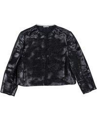 a21fe6517b15 Lyst - Miu Miu Black Cotton Jacket in Black