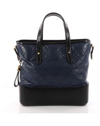 Chanel - Gabrielle Multicolour Leather Handbag - Lyst