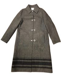 Céline - Wool Coat - Lyst