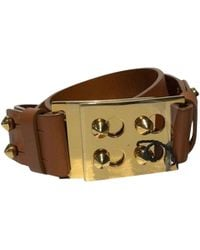 Fendi - Brown Leather Belts - Lyst
