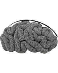 Undercover - Grey Cloth Handbag - Lyst