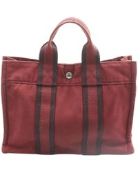 Hermès - Pre-owned Vintage Toto Other Cotton Handbags - Lyst