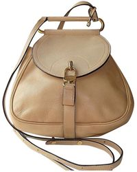 Delvaux - Pre-owned Other Leather Backpacks - Lyst