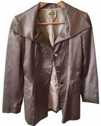 Hermès - Silk Suit Jacket - Lyst