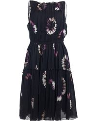 Nina Ricci - Mini vestido de Seda - Lyst