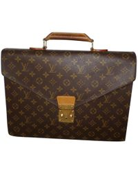 Louis Vuitton - Cloth Satchel - Lyst