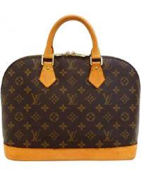 Louis Vuitton - Vintage Alma Other Cloth Handbag - Lyst