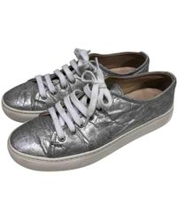 Simone Rocha - Silver Leather Trainers - Lyst