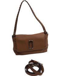 40186f4371a8 Marc Jacobs Brown Maverick Leather Bag in Brown - Lyst