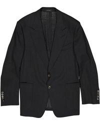 Tom Ford - Black Viscose Jacket - Lyst