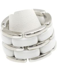 Chanel - Ultra White Gold Ring - Lyst