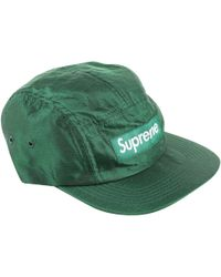 190e2de3a7f Supreme Blue Synthetic Hats   Pull On Hats in Blue for Men - Lyst