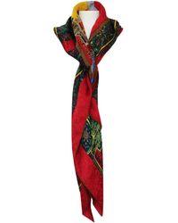 Fendi - Vintage Multicolour Silk Scarves - Lyst