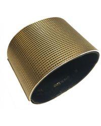 Céline - Pre-owned Gold Metal Bracelet Minimal - Lyst