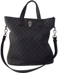 Philipp Plein - Black Leather Handbag - Lyst