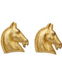 Hermès - Earrings - Lyst