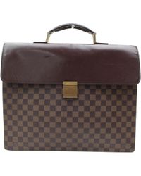 Louis Vuitton | Pre-owned Cloth Handbag | Lyst