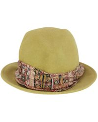 Etro - Pre-owned Rabbit Hat - Lyst