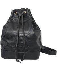 e6b013f68f5839 Lyst - Chanel Caviar Skin Backpack · Daypack Coco Mark in Black