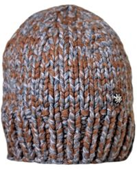 03a9d414eba Chanel - Pre-owned Brown Cashmere Hats - Lyst