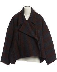 Chloé - Brown Wool Jacket - Lyst