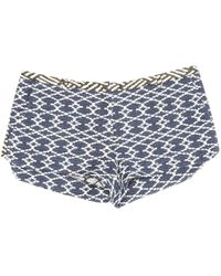 Ba&sh - Pre-owned Navy Cotton Shorts - Lyst