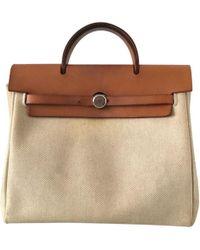 Hermès - Herbag Canvas Backpack - Lyst