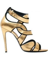 Barbara Bui - Leather Court Shoes - Lyst