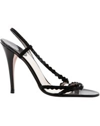 Dior - Patent Leather Sandals - Lyst